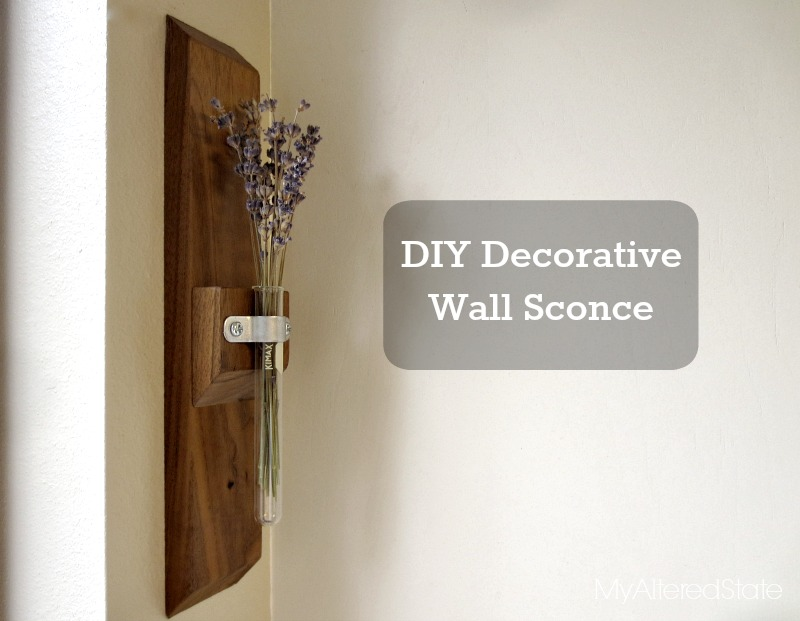 Image of: Diy Decorative Wall Sconces