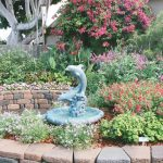 Dolphin Water Fountain Garden