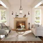 Double Fireplace Sconces