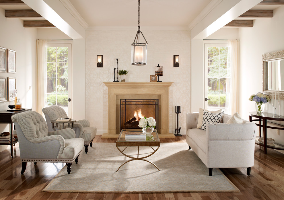 Image of: Double Fireplace Sconces