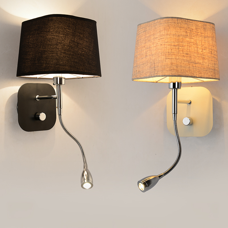 Image of: Double Wall Sconce Design