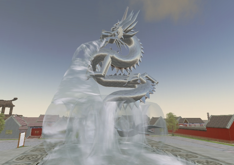 Image of: Dragon Water Fountain Elegant