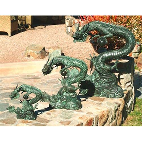 Image of: Dragon Water Fountain Outdoor