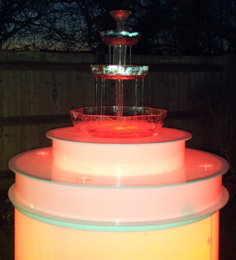 Image of: Drink Fountains for Parties Birthday