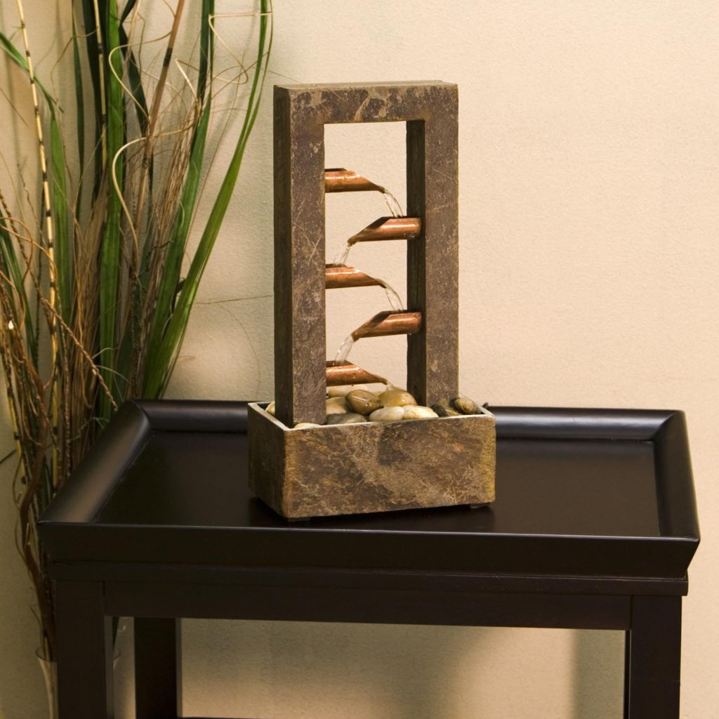 Image of: Easy DIY Tabletop Fountain Simple Design