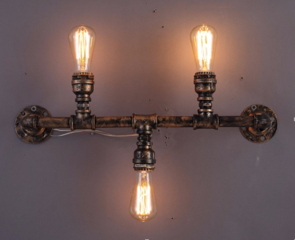 Image of: Edison Bulb Wall Sconce Adapter