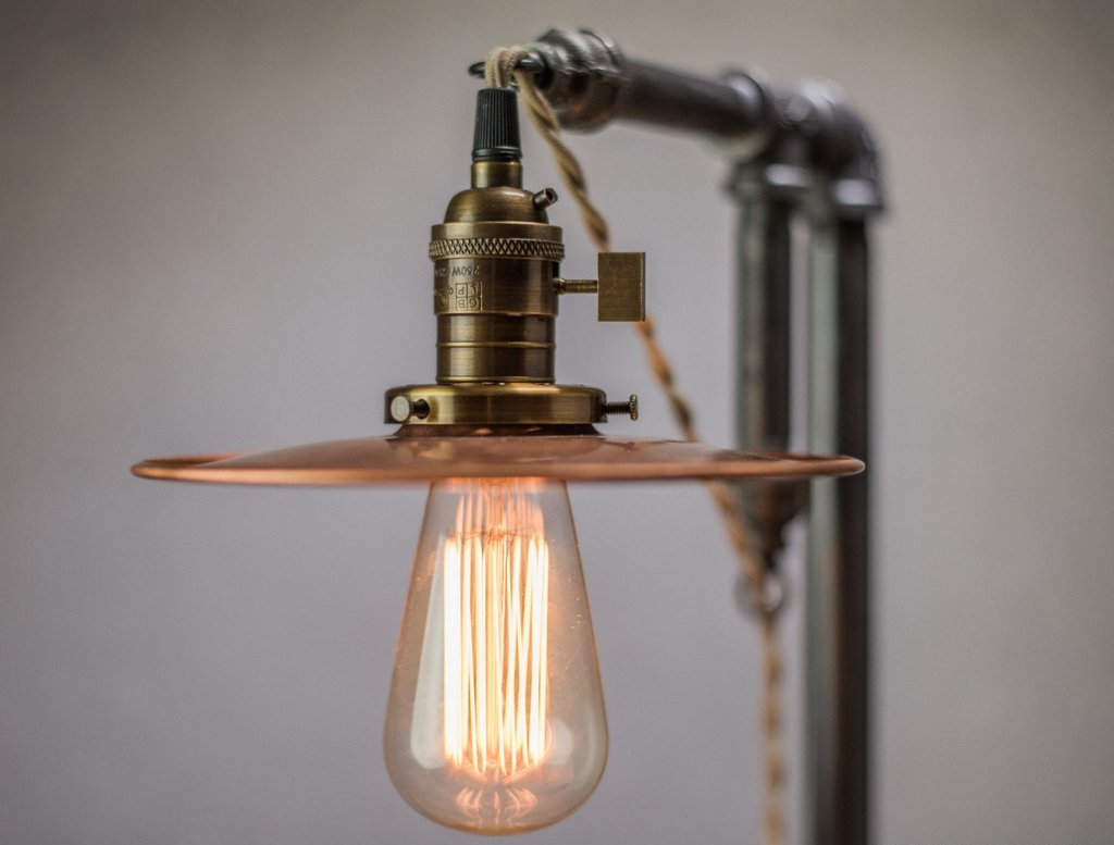 Image of: Edison Bulb Wall Sconce AutoCAD