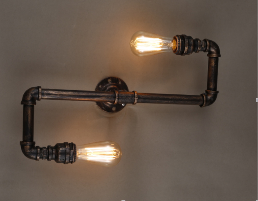 Image of: Edison Bulb Wall Sconce Height