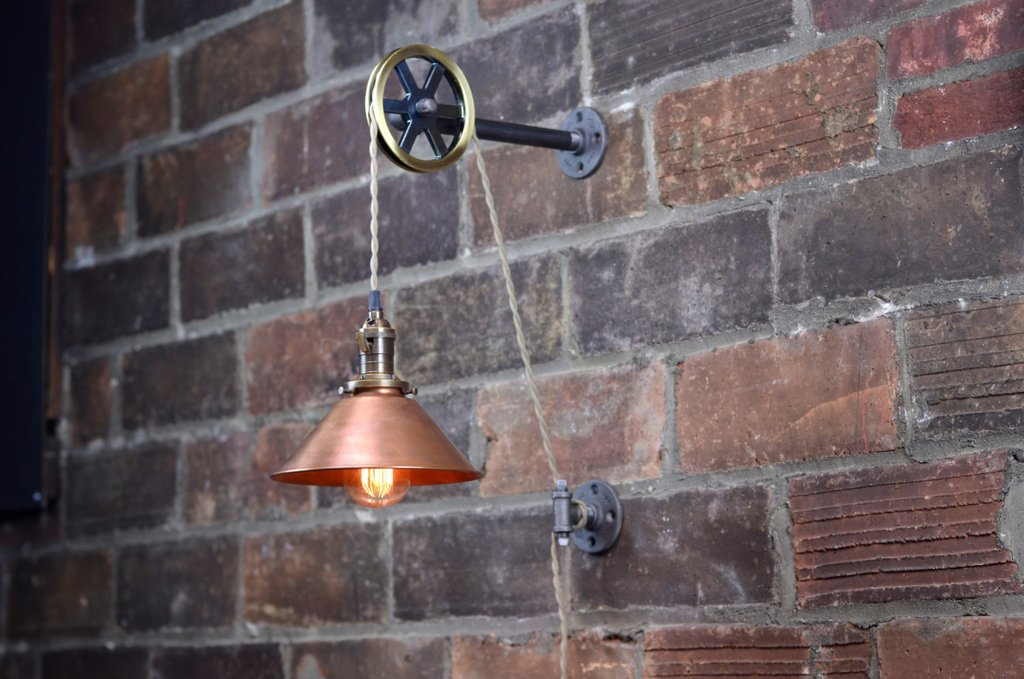 Image of: Edison Bulb Wall Sconce Lighting Fixtures