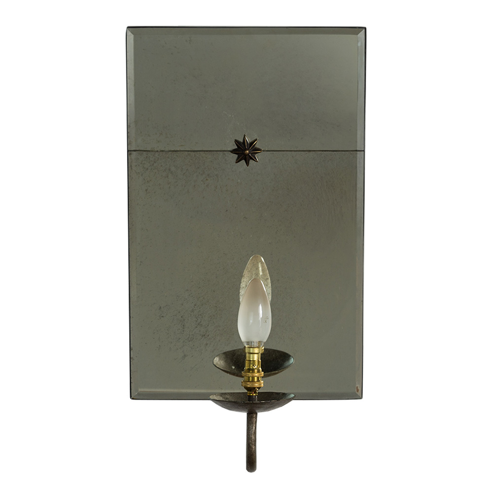Image of: Electric Wall Sconces Mirror