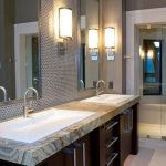 Elegant Chrome Bathroom Sconces