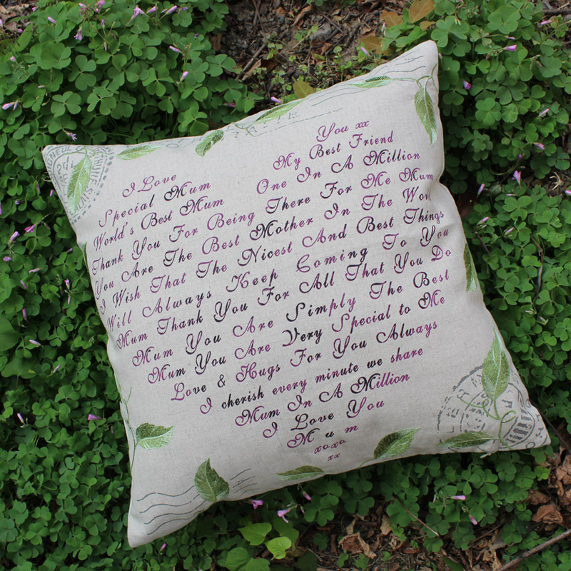 Image of: Elegant Leaf Throw Pillows