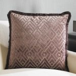 Elegant Purple Decorative Pillows