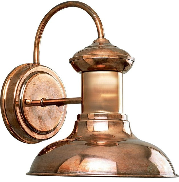 Image of: Exterior Sconce Lights Bronze