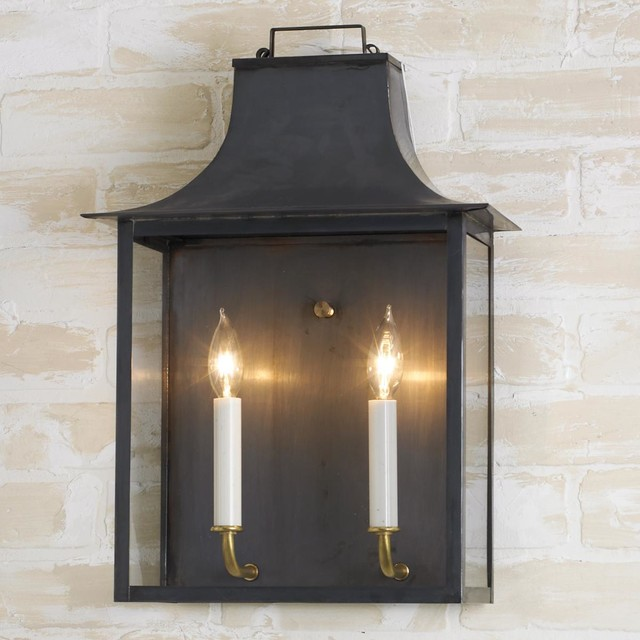 Exterior Sconce Lights Candle