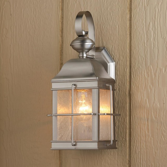 Image of: Exterior Sconce Lights Wall