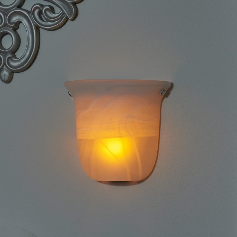 Image of: Fabulous Exciting Half Moon Wall Sconce