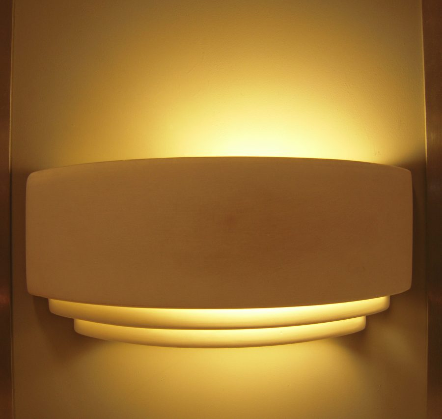 Image of: Fabulous Half Moon Wall Sconce Alternative
