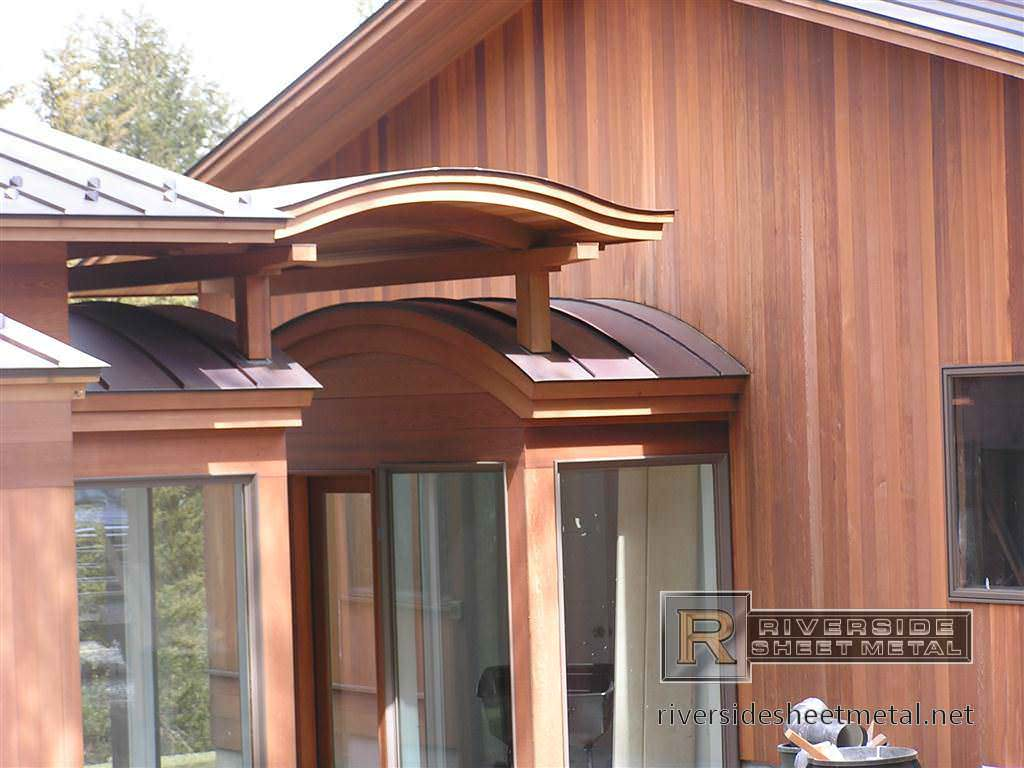 Image of: Faux Copper Roof Panels