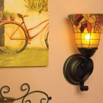 Flameless Bronze Candle Sconces