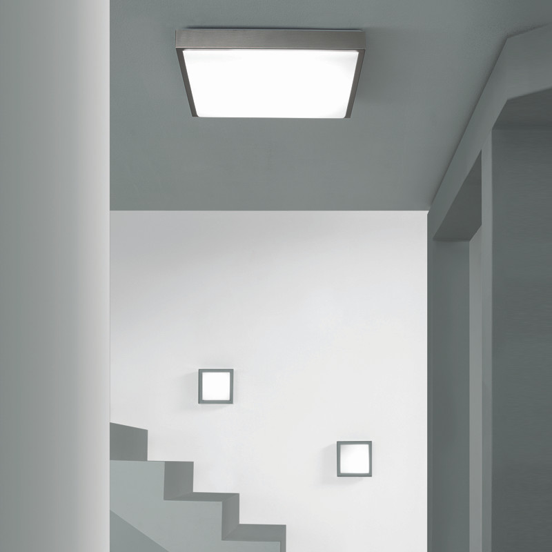 Image of: Flat Wall Sconce Indoor