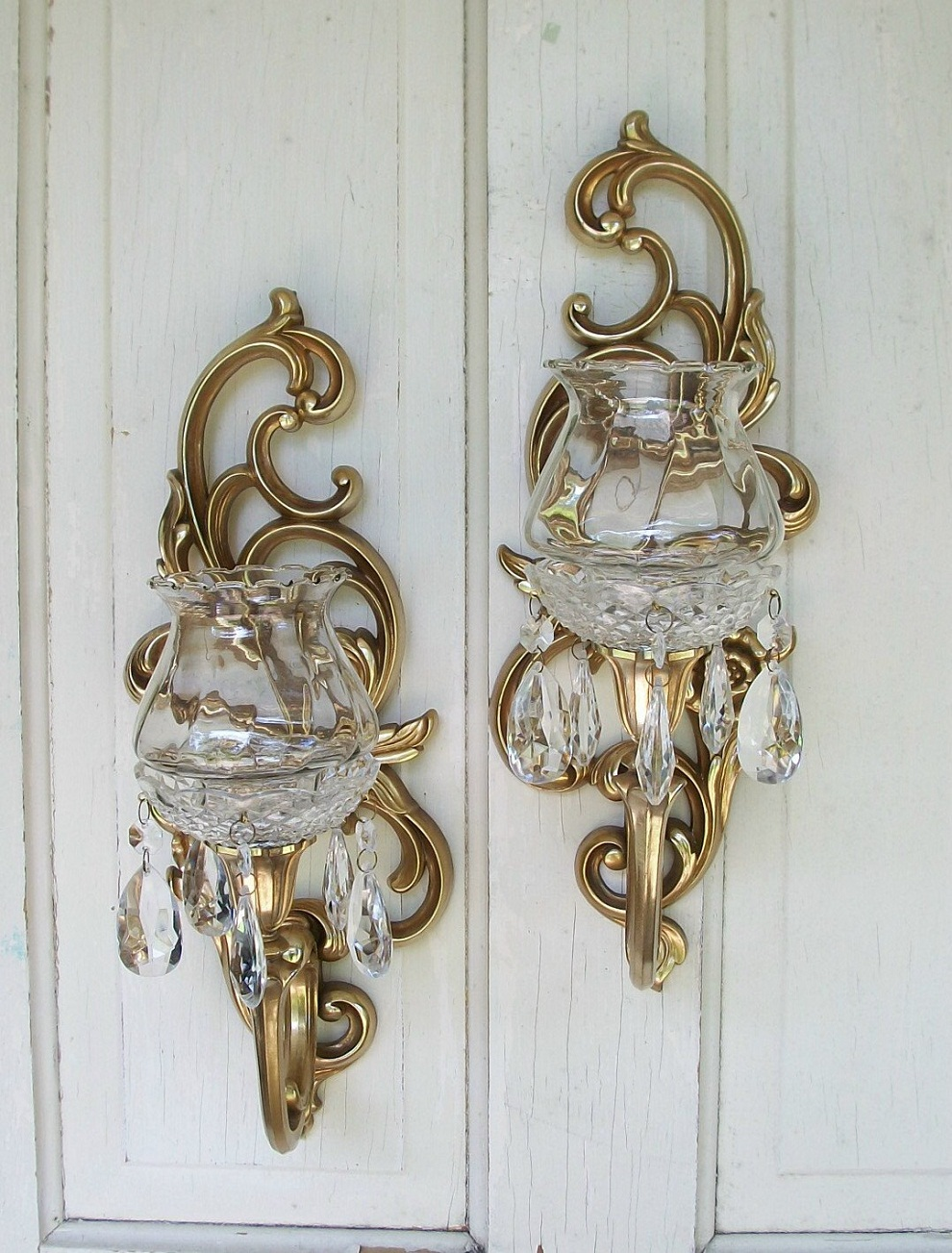 Image of: Fresh Idea Of Candle Sconces Wall Decor