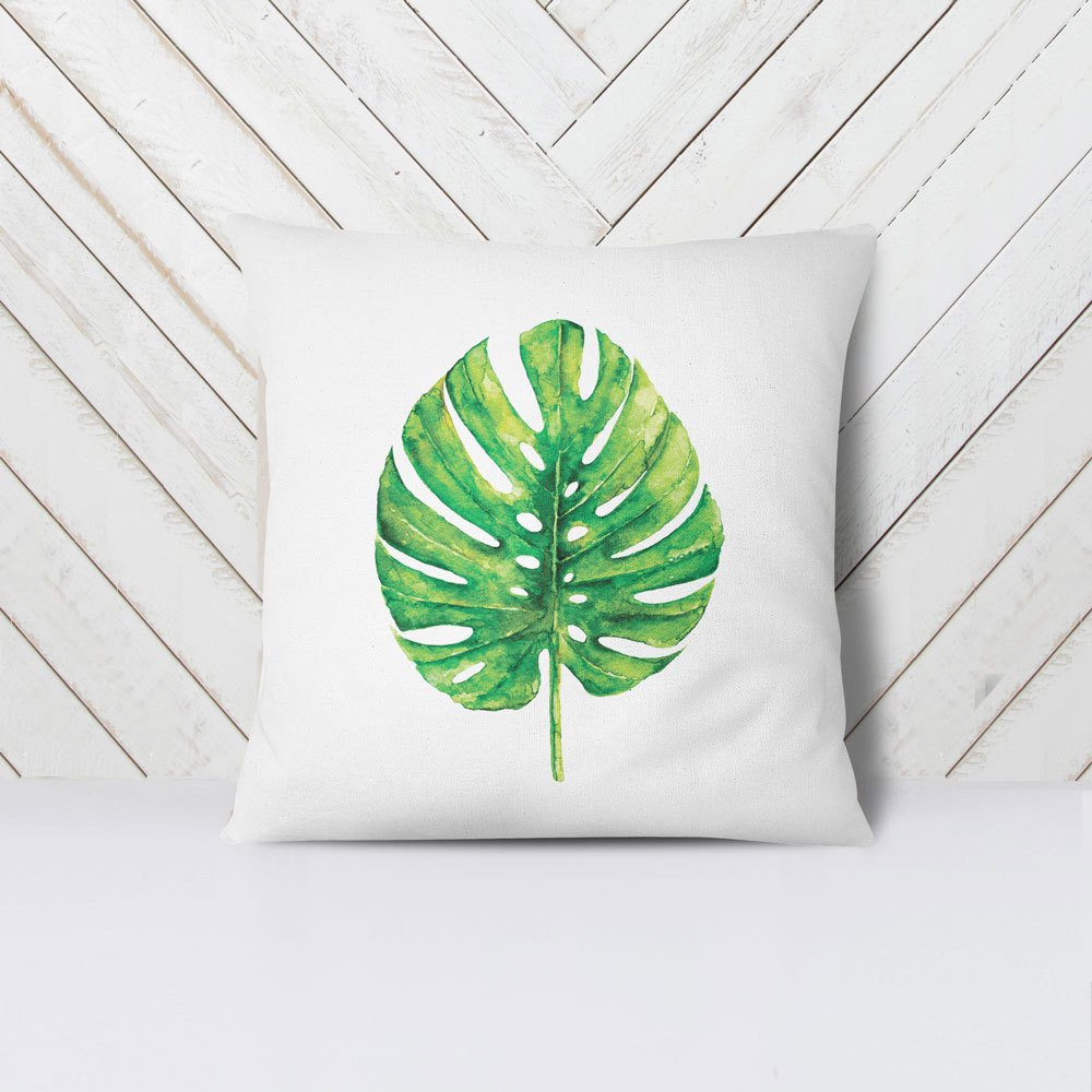 Image of: Fresh Leaf Throw Pillows