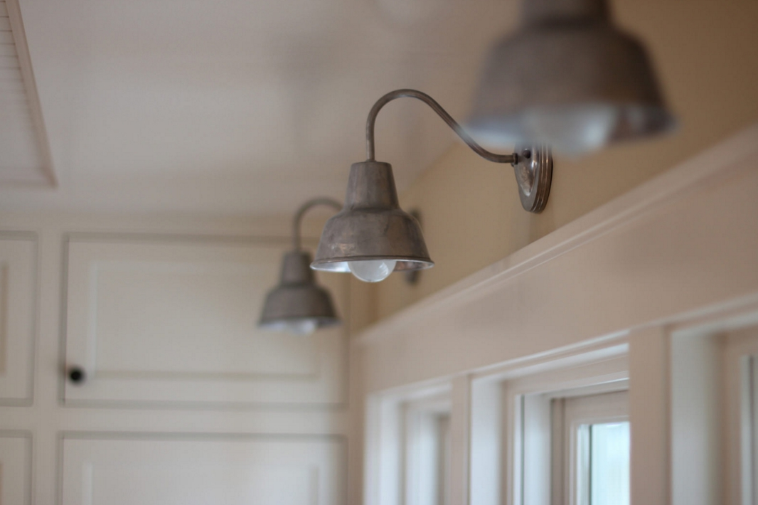 Galvanized Wall Sconce Farmhouse