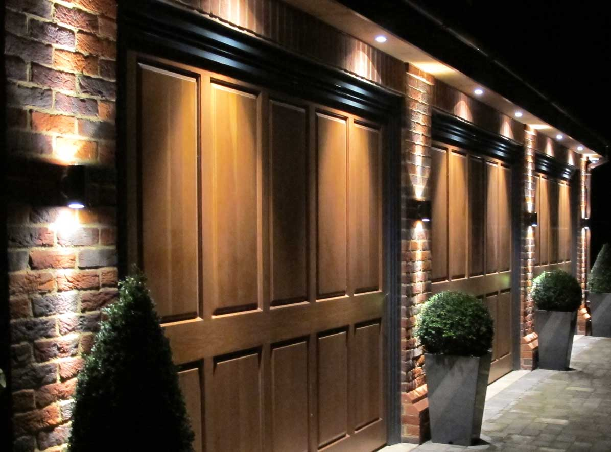 Image of: Garage Sconces Best