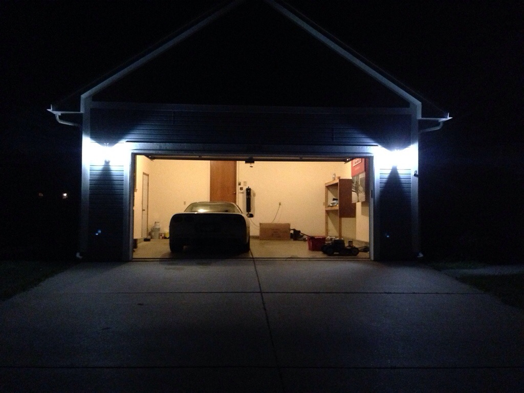 Image of: Garage Sconces LED