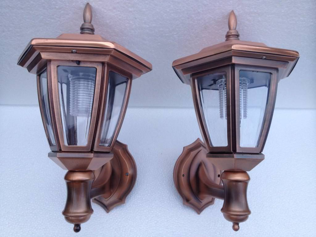 Image of: Garage Sconces Mounted