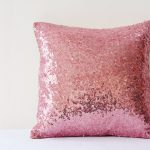 Gold And Pink Throw Pillows