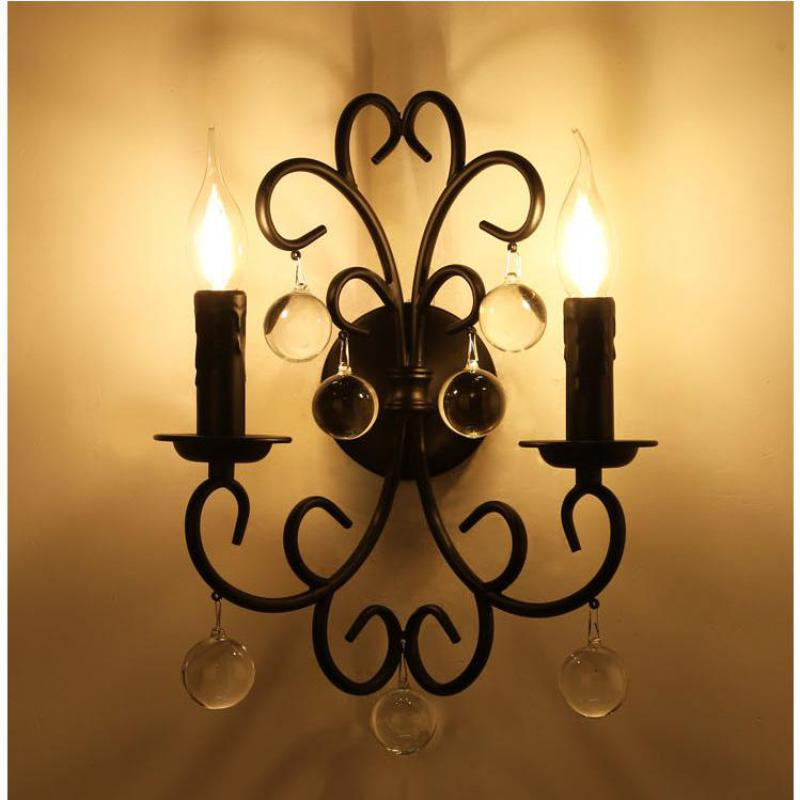 Image of: Gooseneck Wall Sconce Candle