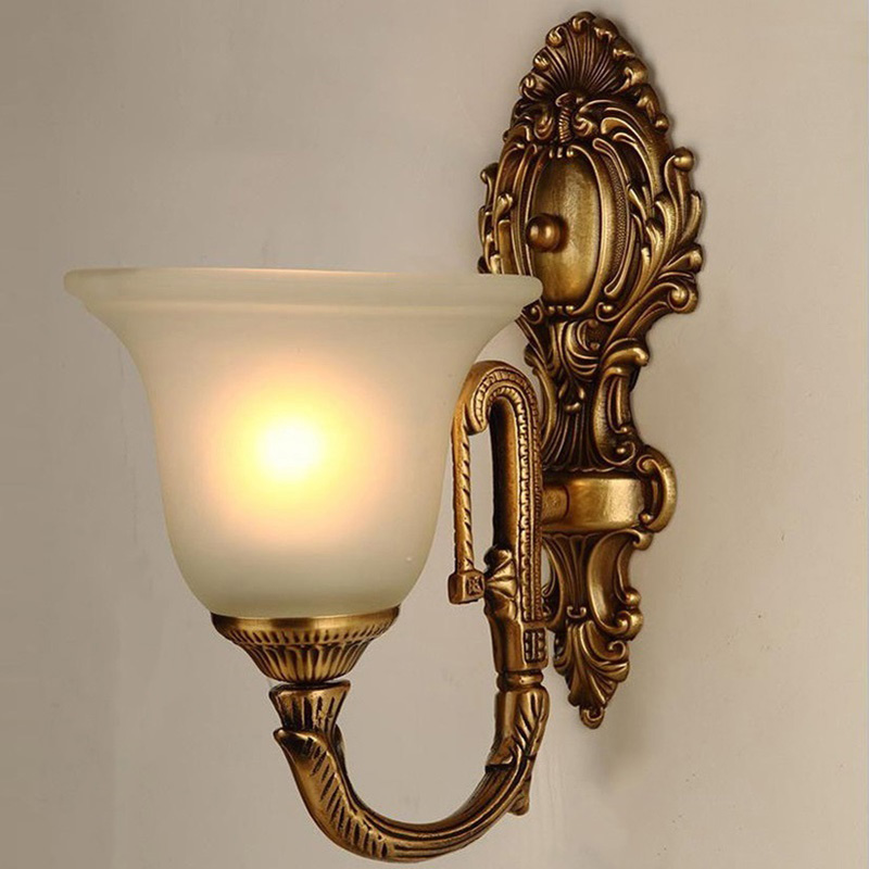 Gooseneck Wall Sconce in Bed
