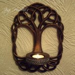 Gothic Wall Sconce Candle Holder