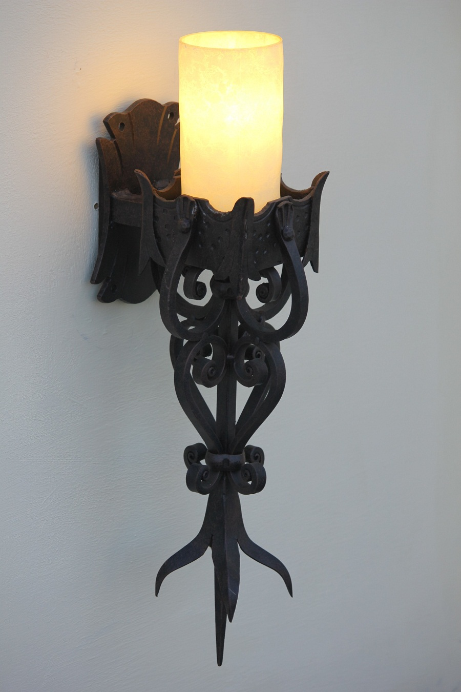 Image of: Gothic Wall Sconce Lamps