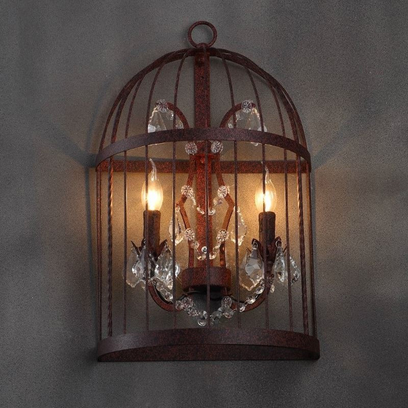 Image of: Gothic Wall Sconce Led