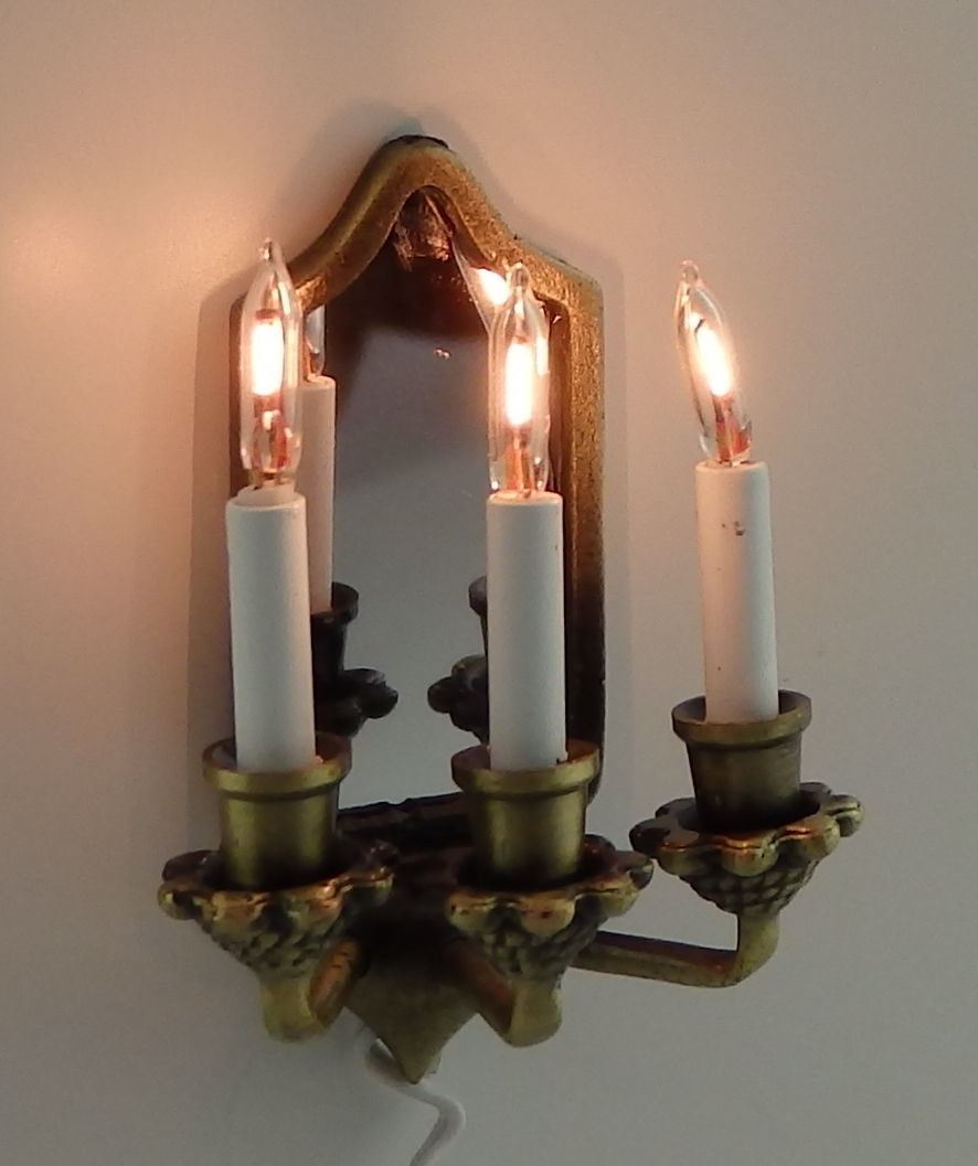 Image of: Gothic Wall Sconce Style