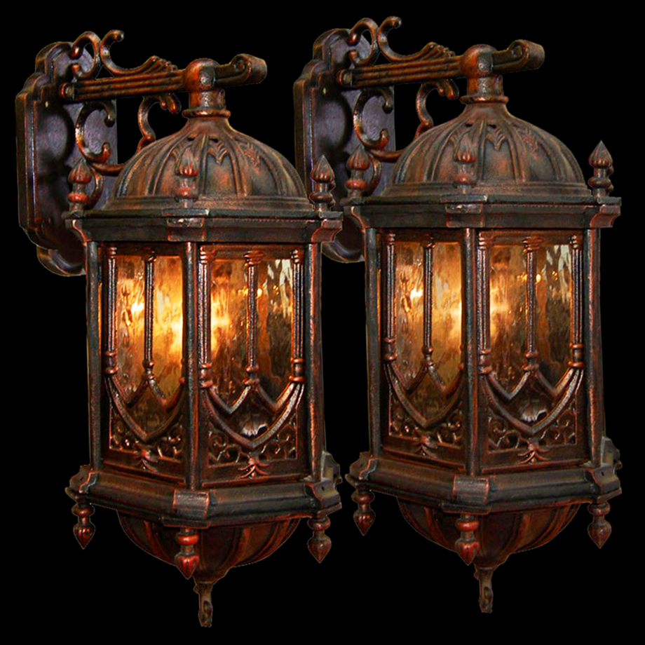 Image of: Gothic Wall Sconce Theme