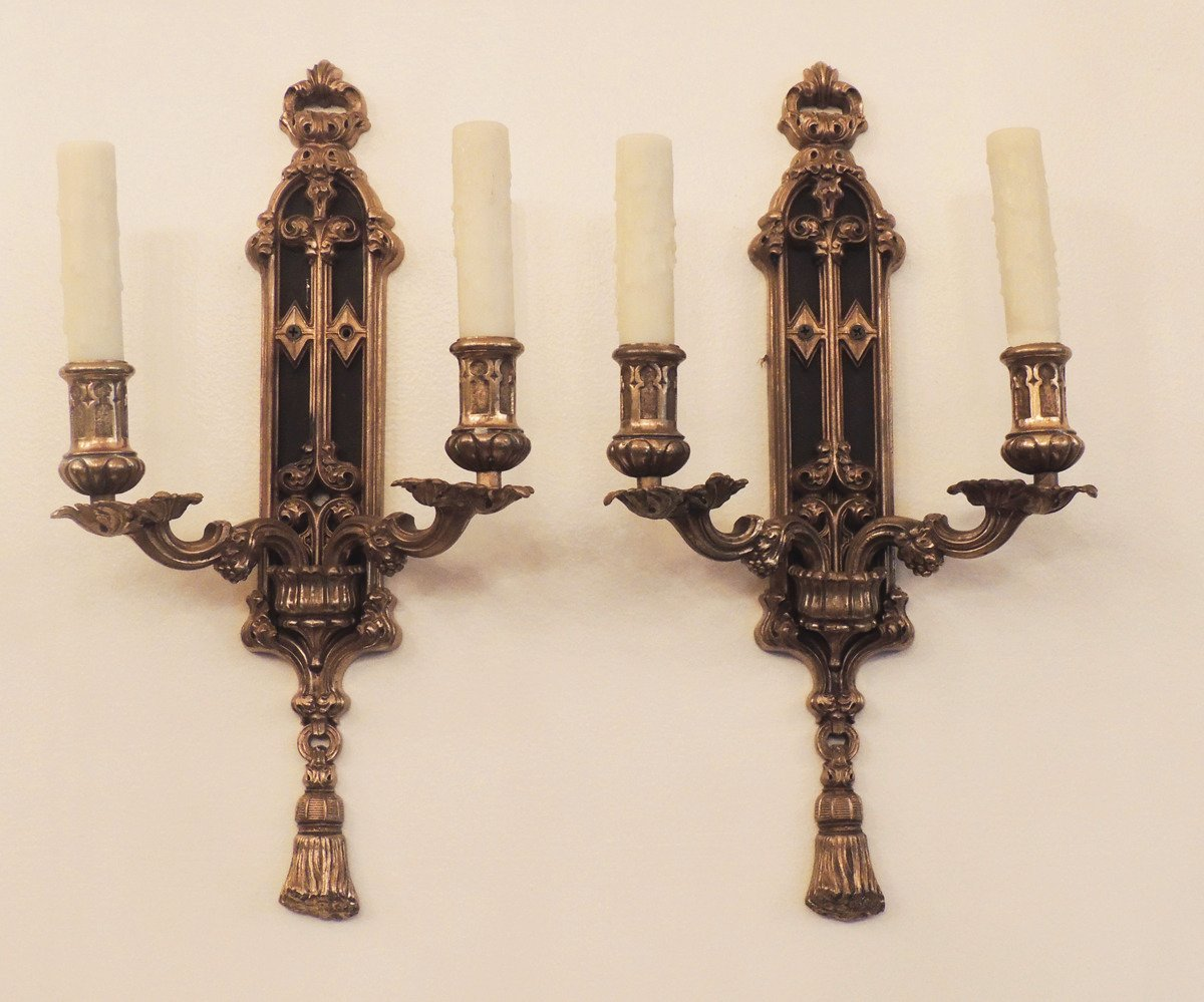 Image of: Gothic Wall Sconce