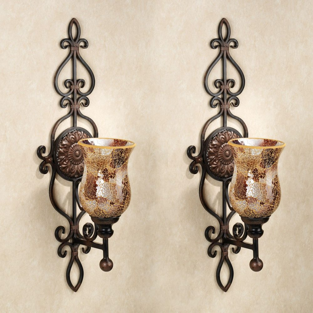 Image of: Great Decorative Wall Sconces For Flowers Designs Ideas