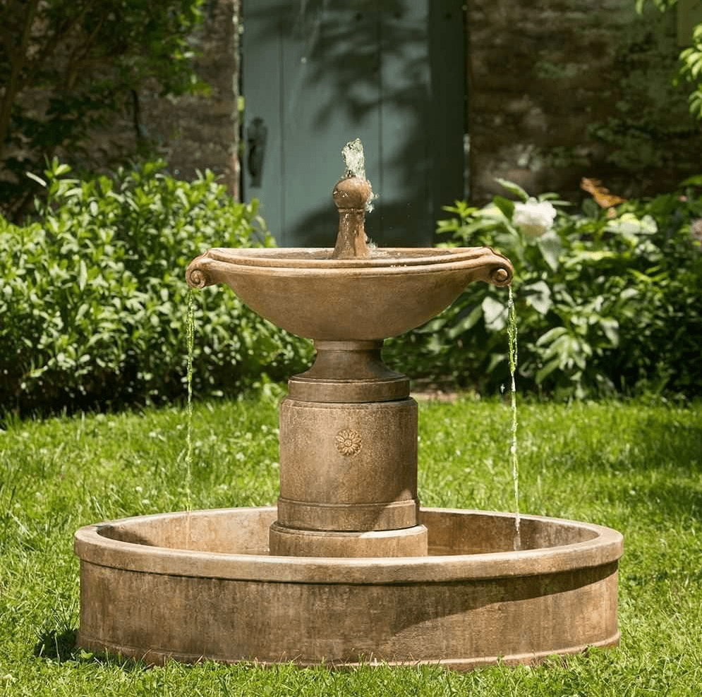Image of: Great Disappearing Fountain Basin