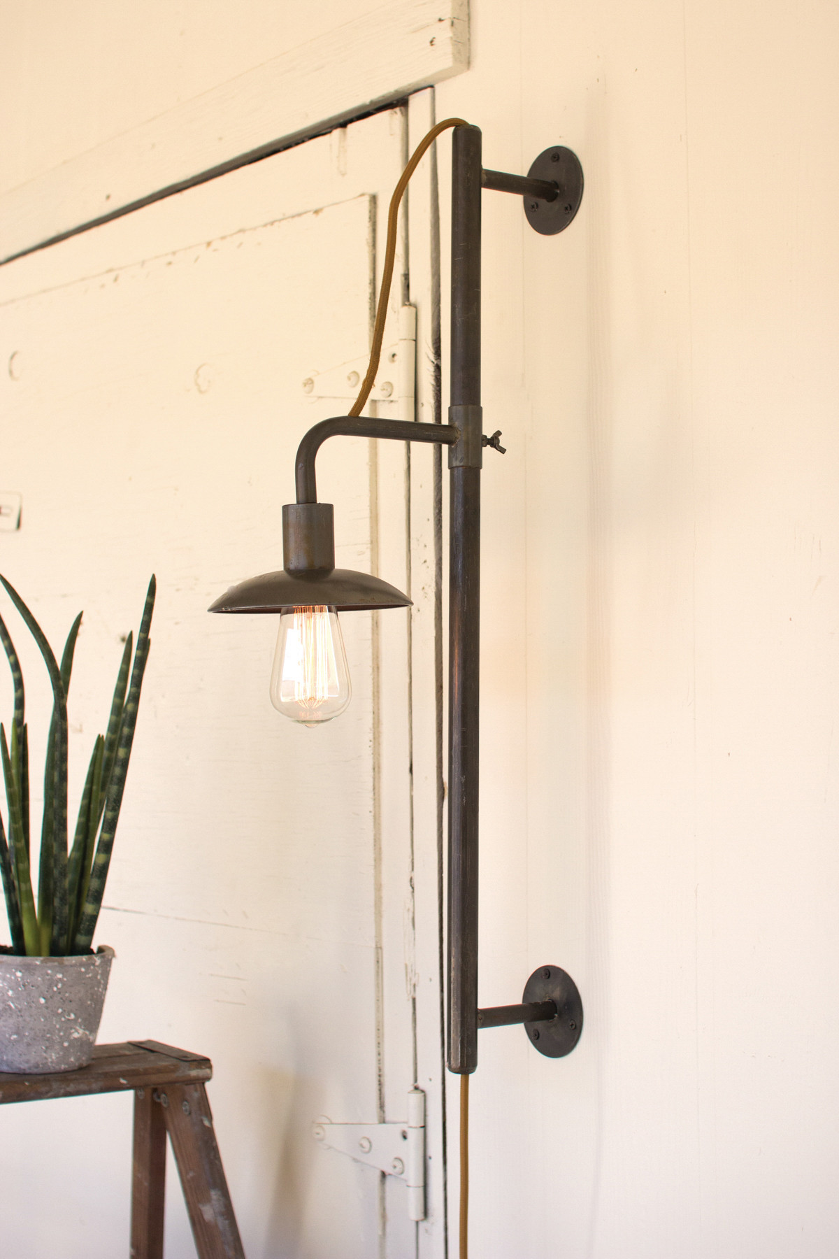 Image of: Height Farmhouse Wall Sconces
