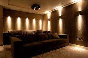 Image of: Home Theater Wall Sconces Ideas