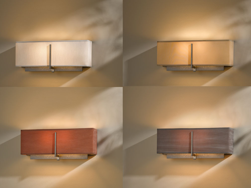 Image of: Hubbardton Forge Sconce Tall