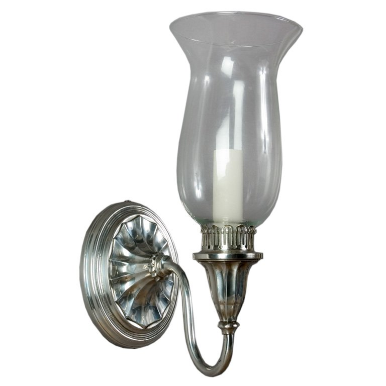 Image of: Hurricane Glass Wall Sconce