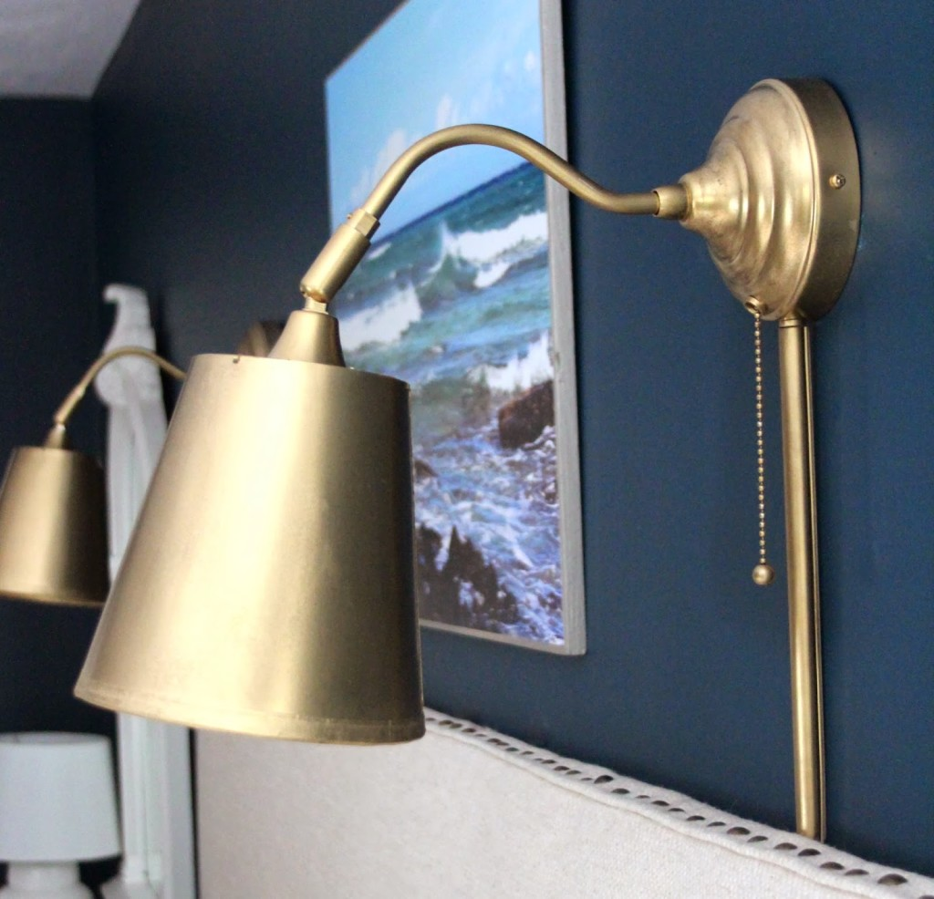 Image of: IKEA Wall Sconces Hack