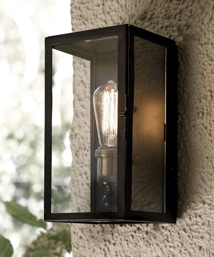 Image of: Idea Exterior Wall Sconces