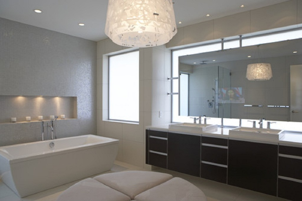 Image of: Ideas Bathroom Vanity Sconces