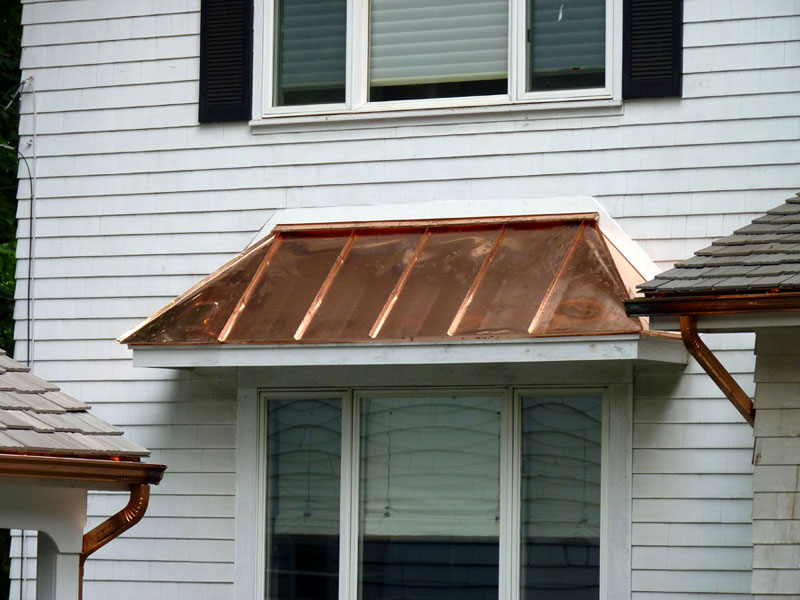 Image of: Ideas Copper Roofing Sheet Designs Ideas